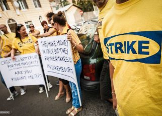 Ikea Protest