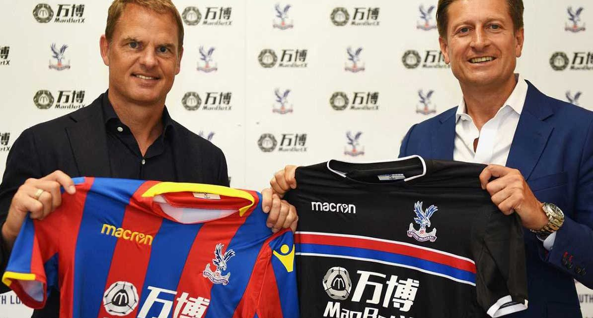 Frank de Boer at Crystal Palace