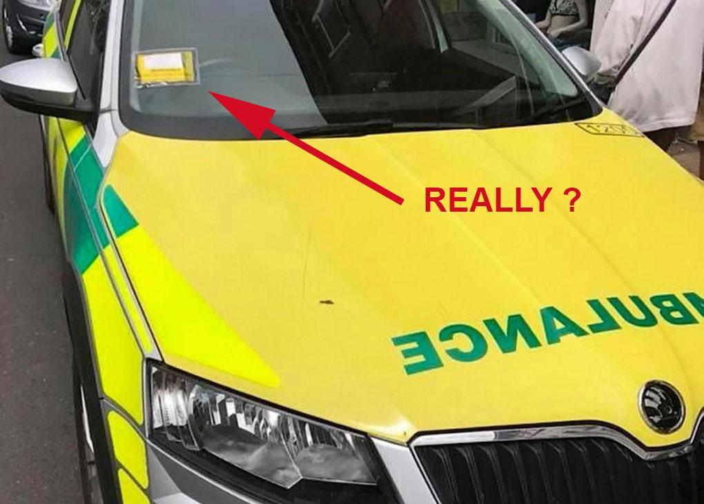 Parking-Ticket-Ambulance